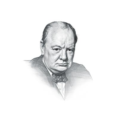 Public Speaking Guide  Tips from Churchill   The Art of Manliness Independent